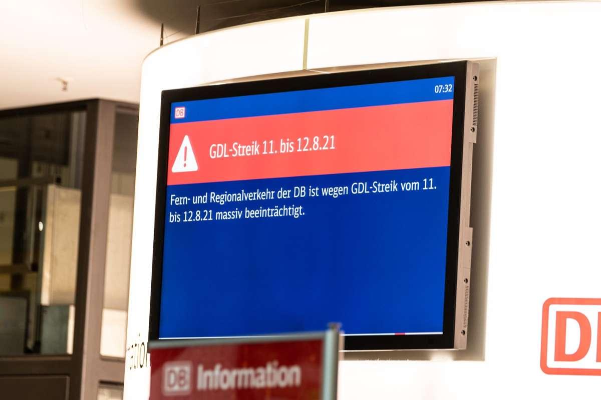 Streiks Bei Der Bahn Was Fahrgaste In Oberfranken Und Thuringen Beachten Sollten Oberfranken Nordbayerischer Kurier