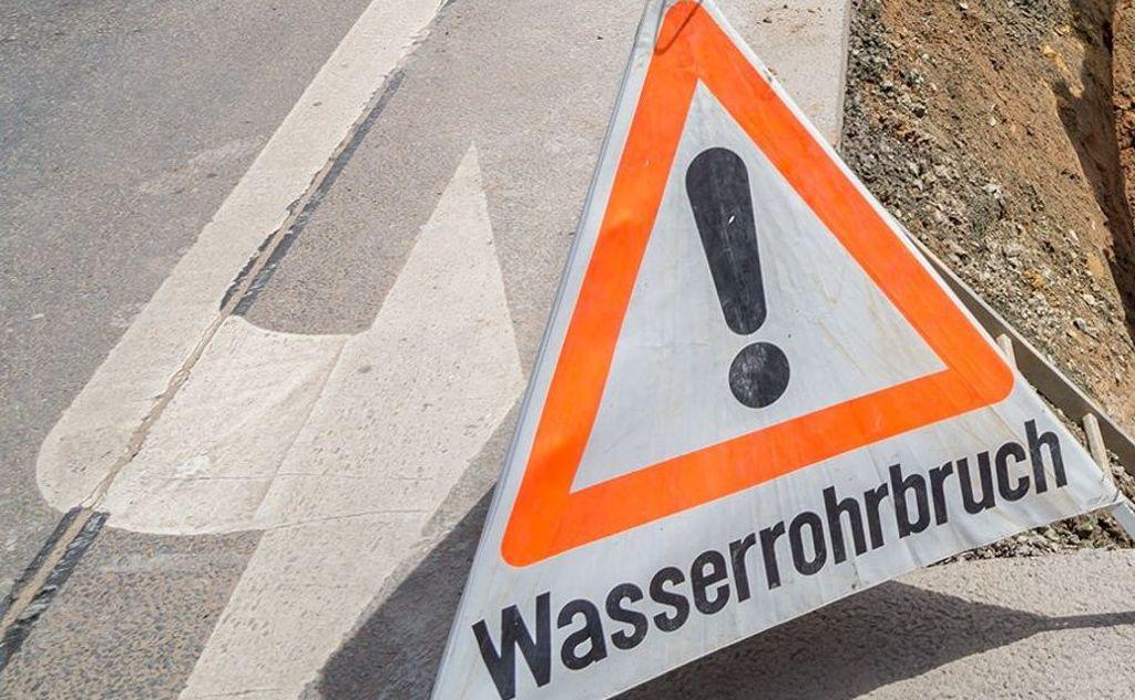 Erneuter Rohrbruch: Y-Haus und weitere Hochhäuser ohne Wasser ...