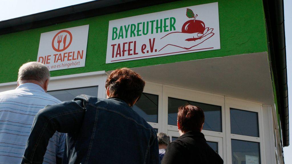 Ladenpaten: Die Lebensader der Tafel - Bayreuth - Nordbayerischer Kurier