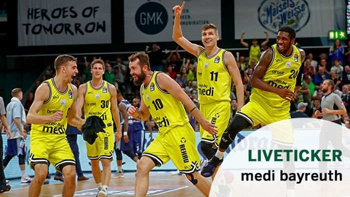 Liveticker: Medi Bayreuth vs. Fraport Skyliners