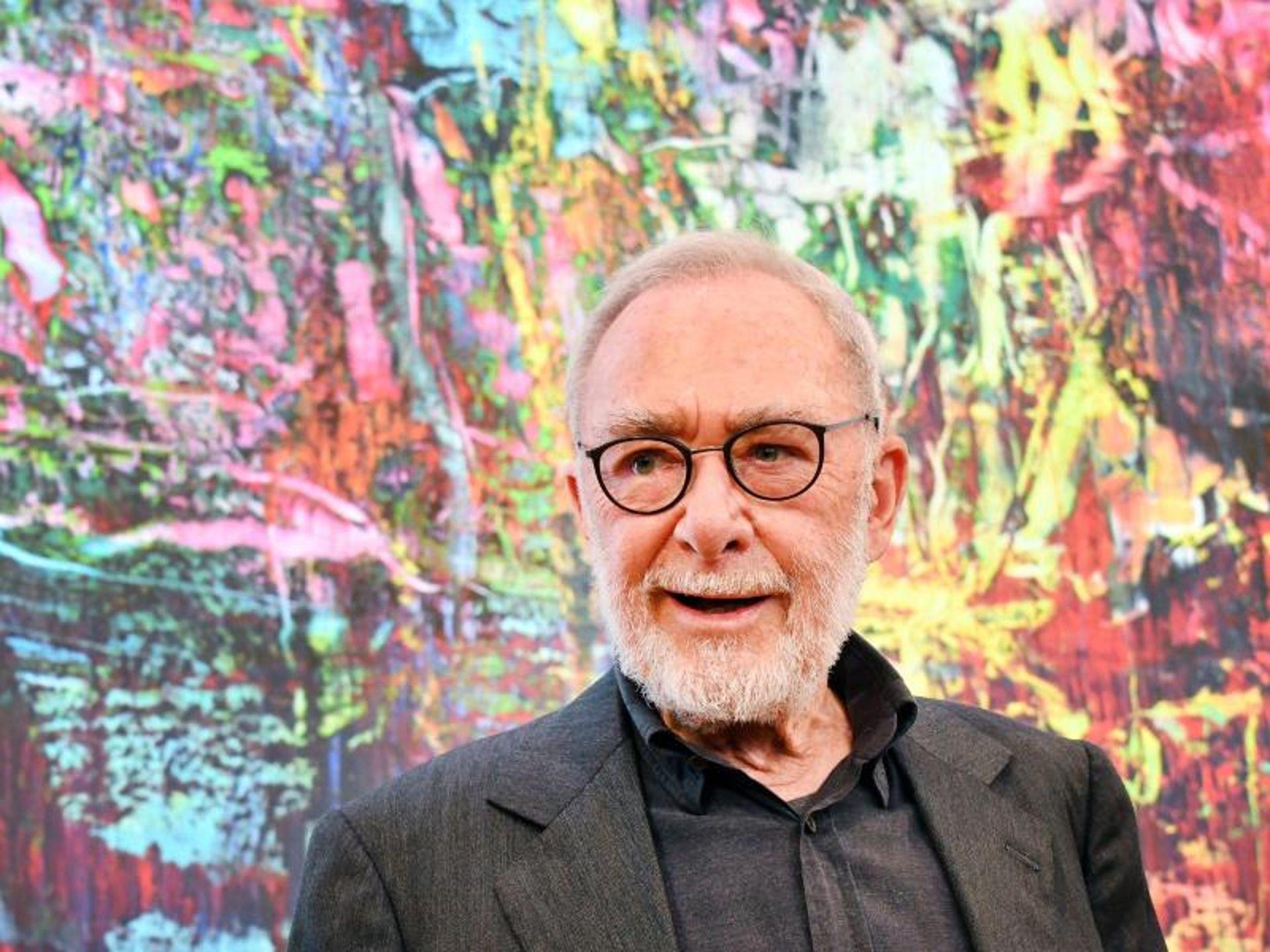 Звезда современного мира искусства и один из самых богатых людей Германии - немецкий художник Герхард Рихтер.