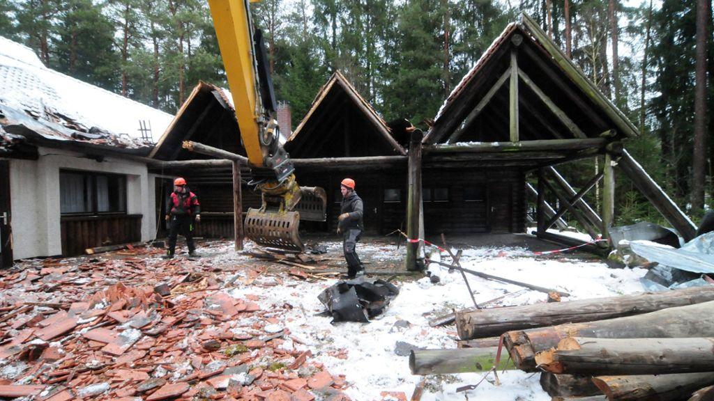 Waldschänke wird platt gemacht - News - Nordbayerischer Kurier