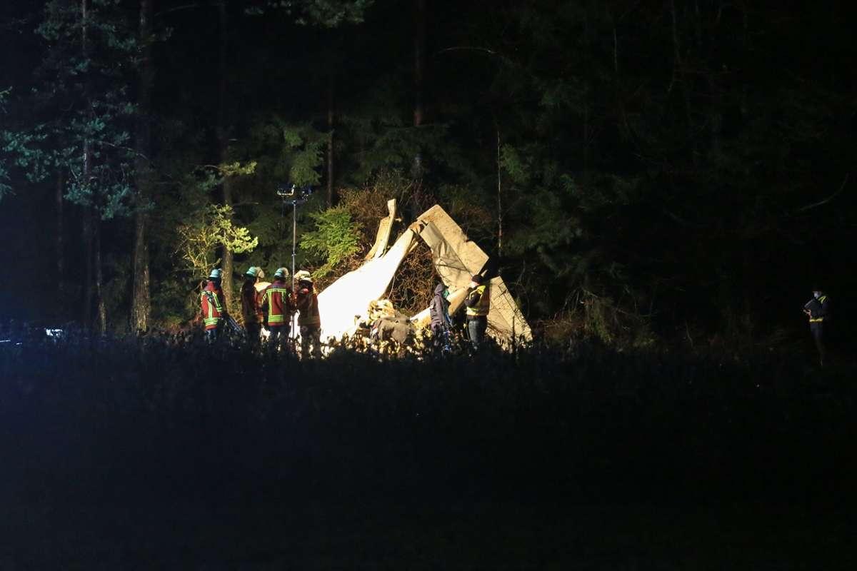 Ungluck In Pegnitz Pilot Stirbt Bei Flugzeugabsturz Oberfranken Nordbayerischer Kurier