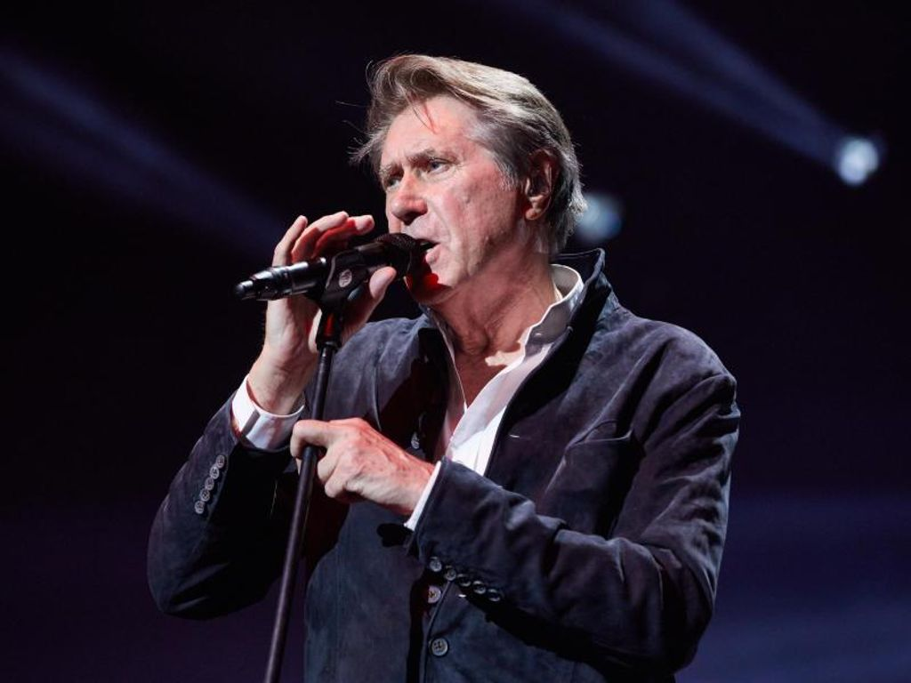 Beim Tourauftakt von Night of the Proms war auch Bryan Ferry dabei. Foto: Georg Wendt