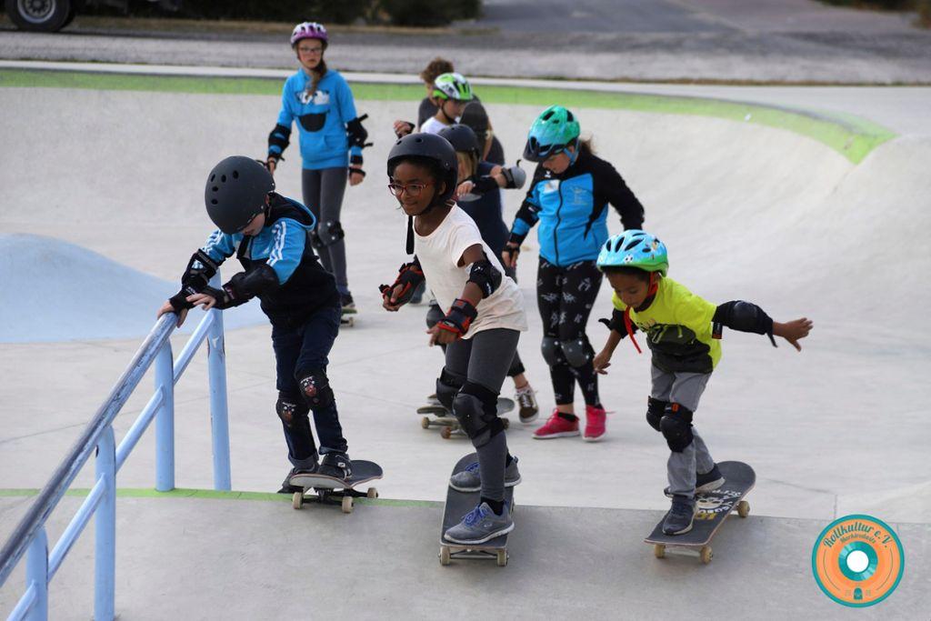 Skateboardkurs: Rollkultur wieder aufleben lassen