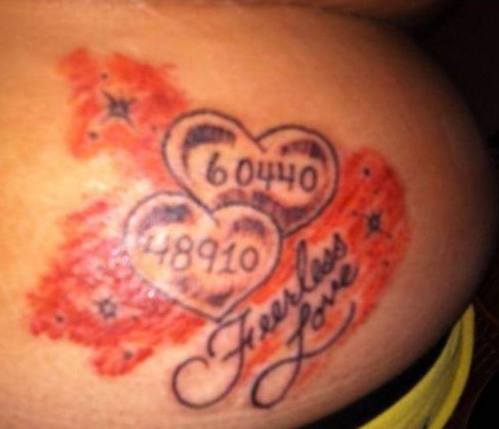 Schlimme tattoos