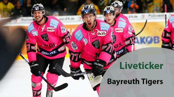 Liveticker: Bayreuth Tigers vs. Kassel Huskies