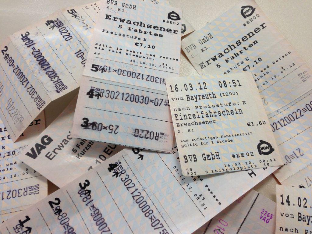 Preiserhöhung Gilt Ab 1 Januar 2013 Bus Fahren Im Vgn Wird