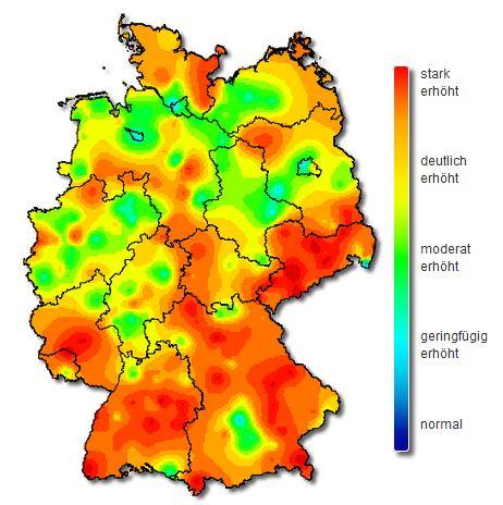 Karte Oberfranken Unterfranken Mittelfranken.Die Dunkelziffer Liegt Nach Mediziner Einschatzung Um Ein